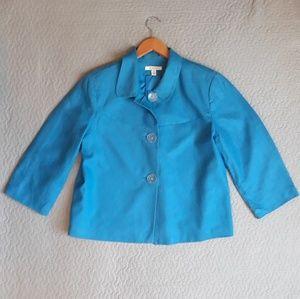 100% Linen dress jacket size 16 JM Collect…